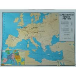 ΙΣΤΟΡΙΚΟΣ ΧΑΡΤΗΣ - Νο 18. Ναπολεόντειοι  πόλεμοι.