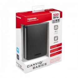 """ΕΞΩΤΕΡΙΚΟΣ ΣΚΛΗΡΟΣ ΔΙΣΚΟΣ  500GB EXTERNAL HDD 2.5"""" USB 3.0 TOSHIBA"""