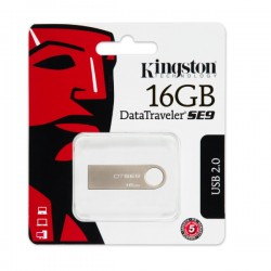 FLASH DRIVE KINGSTON DATA TRAVELER SE9 16GB USB 2.0