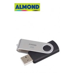 FLASH DRIVE USB 32GB TWISTER ALMOND